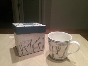 box and mug
